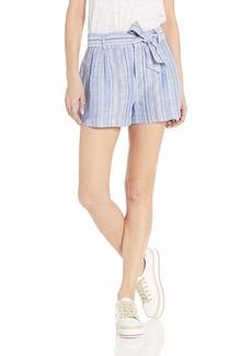 Parker Women's Stella High Waisted Linen Short