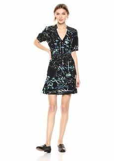 Parker Women's Talisa Sleeve v-Neck fit to Flare Short Dress