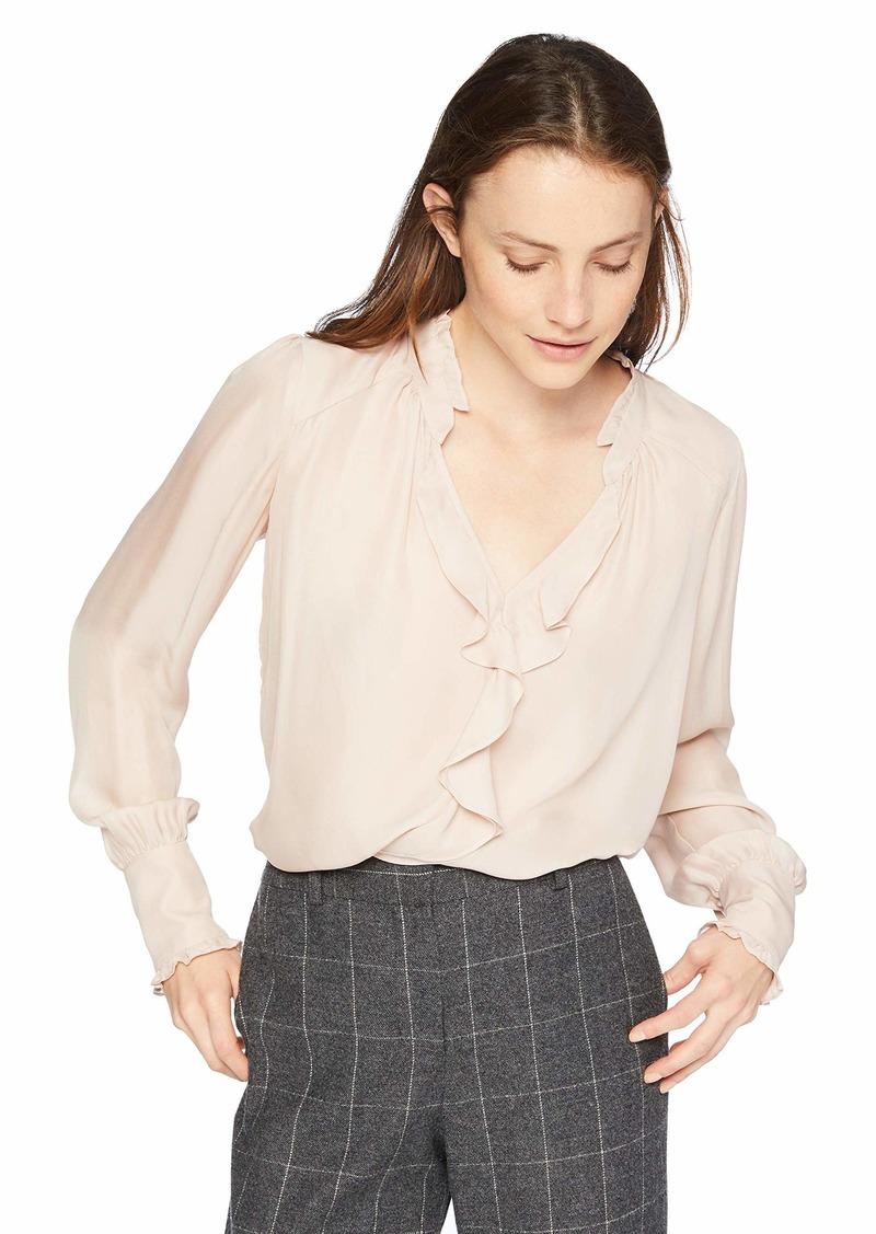 6923ad07c2637 On Sale today! Parker Parker Women s Tilly Long Sleeve v-Neck Ruffle ...