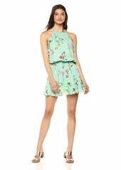 Parker Women's Williame Sleeveless Mini Silk Dress  S
