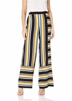 Parker Women's Wrenn high Waist Striped Wide Leg Pant
