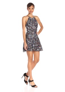 Parker Women's Zulma Halter Fit and Flare Dress
