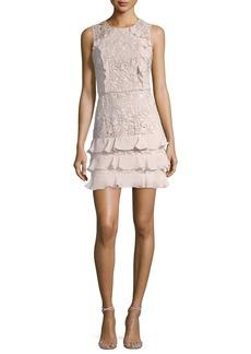 Parker Zahara Combo Sleeveless Lace Cocktail Dress