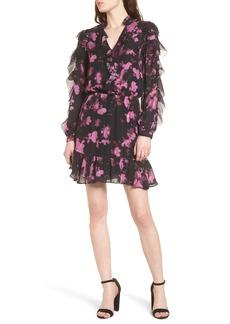 Parker Zinnia Ruffle Silk Dress