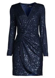 Parker Philipa Sequin Twist-Front Dress