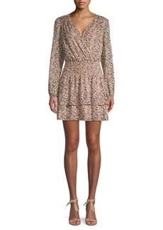 Parker Printed Wrap-Style Dress