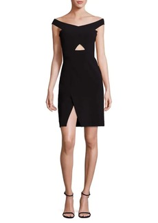 Parker Rory Off Shoulder Body Con Dress