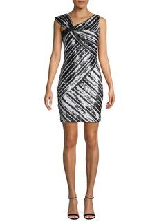 Parker Sequin Embellished Sheath Dress