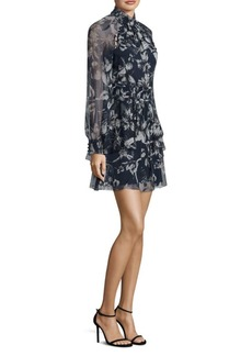 Parker Shelby Floral Silk Dress