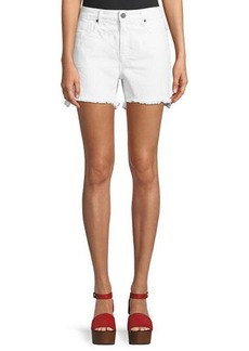Parker Side Fray Cutoff Denim Shorts