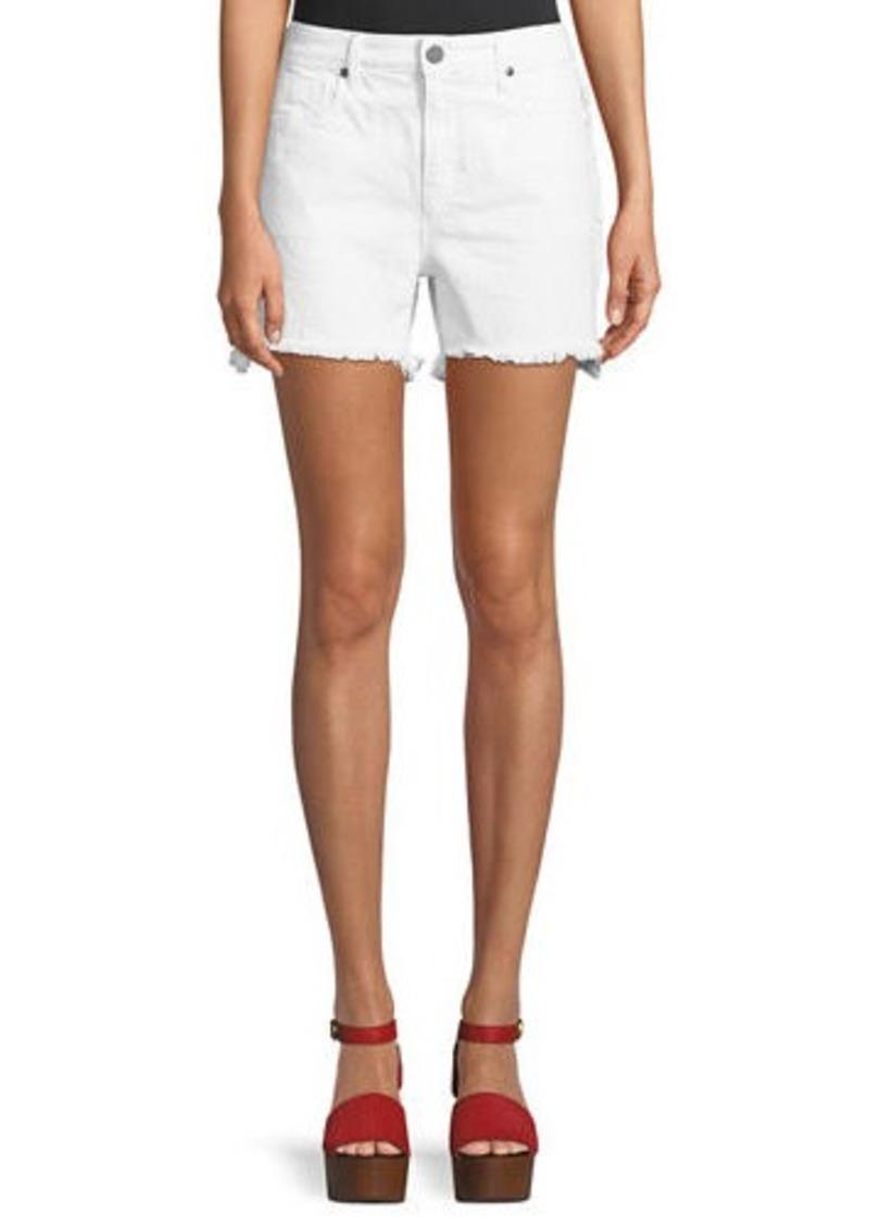 Parker Side Fray Cutoff Denim Shorts