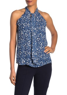 Parker Sleeveless Tie Front Blouse
