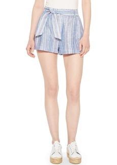 Parker Stella Stripe Linen Shorts