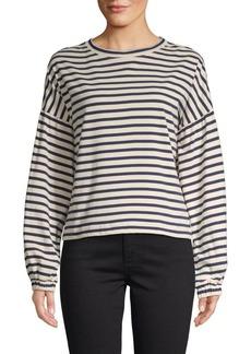 Parker Striped Cotton Sweatshirt