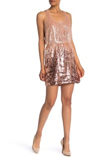 Parker Sugar Ombre Short Dress
