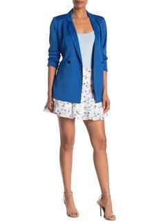 Parker Valentina Floral Print Mini Skirt