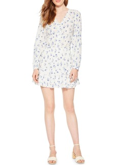 Parker Valentina Floral Smocked Mini Skirt