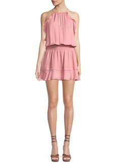 Parker Williame Sleeveless Blouson Silk Dress