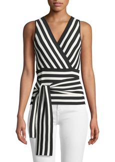 Parker Winifred Knit Tie-Back Top