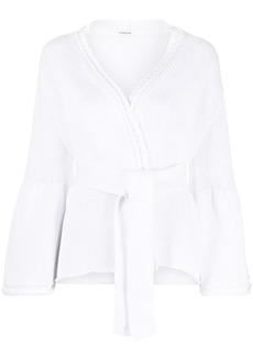 P.A.R.O.S.H. Capsicum belted wrap cardigan