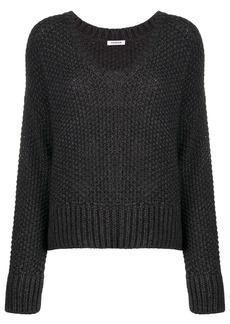 P.A.R.O.S.H. chunky knit V-neck jumper