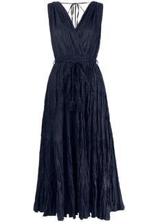 P.A.R.O.S.H. crinkled-effect dress