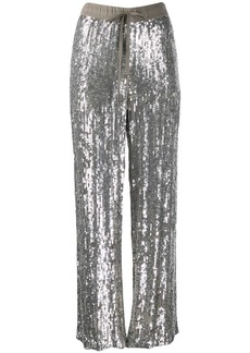 P.A.R.O.S.H. embellished drawstring trousers
