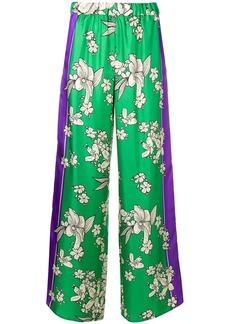 P.A.R.O.S.H. floral print palazzo pants