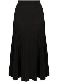 P.A.R.O.S.H. high-waisted pleated skirt