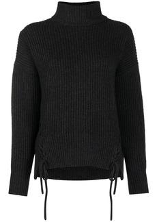 P.A.R.O.S.H. Leccio lace-up jumper