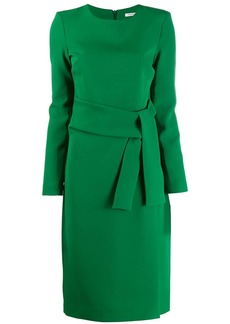 P.A.R.O.S.H. long-sleeved midi dress