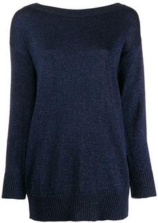 P.A.R.O.S.H. oversize shimmer jumper