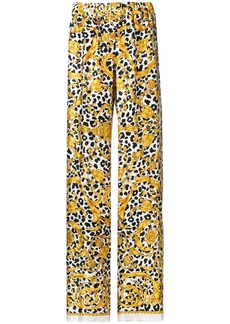 P.A.R.O.S.H. printed flared trousers