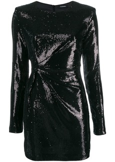 P.A.R.O.S.H. sequin mini dress