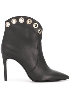 P.A.R.O.S.H. Teke eyelet ankle boots