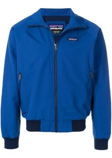 Patagonia logo bomber jacket