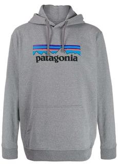 Patagonia logo print hoodie