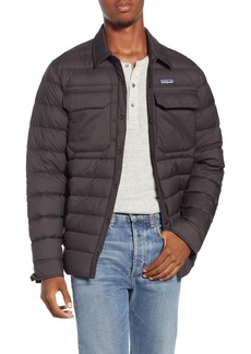 Men's Patagonia Silent Water Repellent 700-Fill Power Down Shirt Jacket