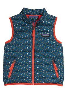Patagonia 600 Fill Power Down Sweater Vest (Toddler)