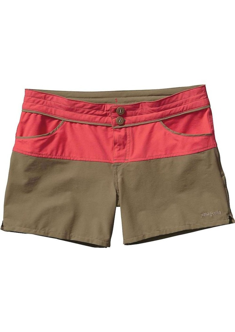 Patagonia Women's Colorblock Stretch Wavefarer Board Short