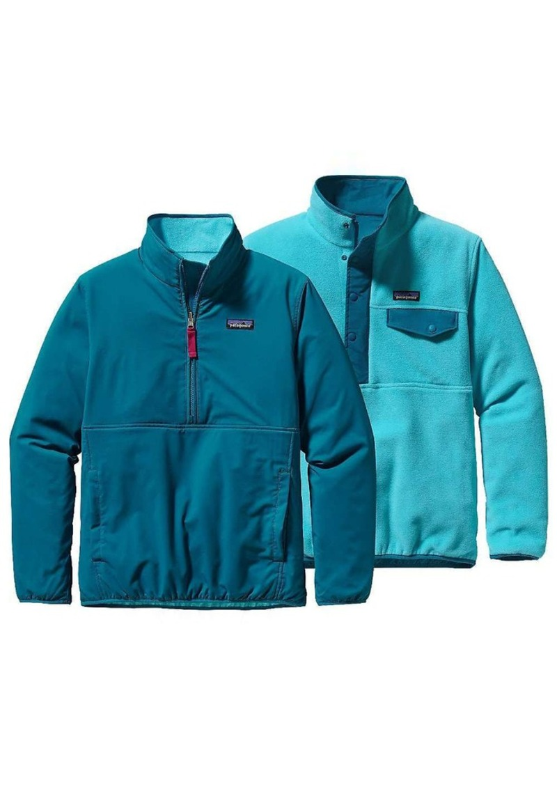 Patagonia Women's Reversible Snap-T Glissade Pullover