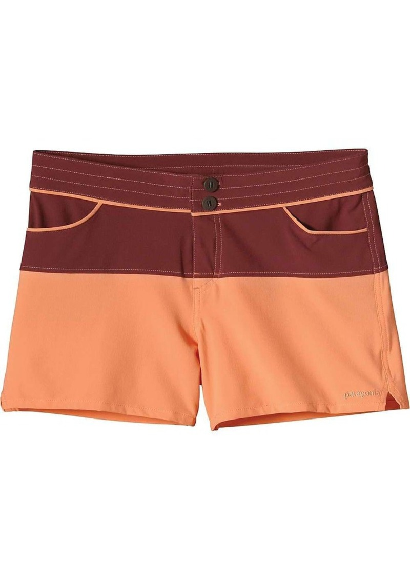 Patagonia Women's Colorblock Meridian Board Short