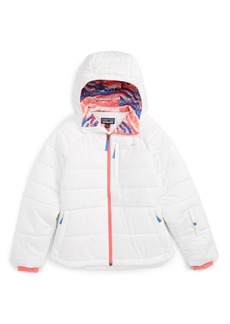 Patagonia Aspen Grove Water Resistant Hooded Jacket (Little Girls & Big Girls)