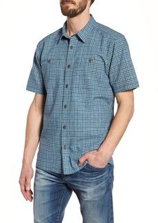 Patagonia 'Back Step' Regular Fit Check Short Sleeve Sport Shirt