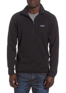 Patagonia Better Sweater® Performance Slim Quarter-Zip Pullover