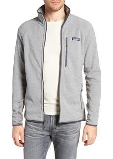 Patagonia Better Sweater® Performance Slim Fit Zip Jacket
