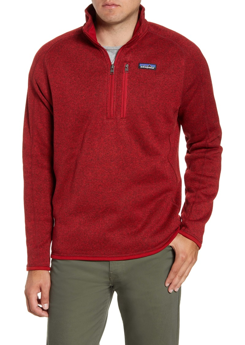 Patagonia Better Sweater® Quarter Zip Jacket