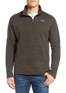 Patagonia 'Better Sweater' Quarter Zip Pullover
