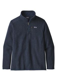 Patagonia Better Sweater® Quarter Zip Pullover (Little Boy & Big Boy)