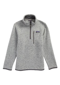 Patagonia Better Sweater Quarter Zip Pullover (Little Boys & Big Boys)